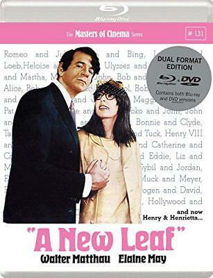 A New Leaf (1971) [Masters of Cinema] Dual Format (Blu-ray & DVD), DVD, New, FRE
