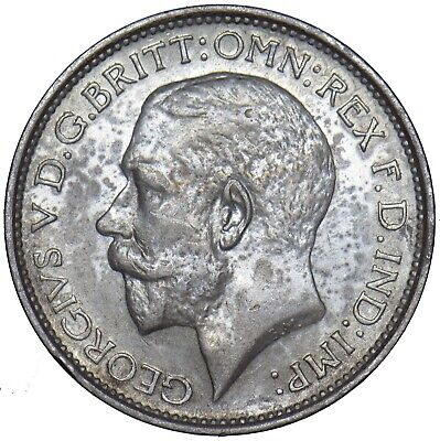 1924 Maundy Fourpence - George V British Silver Coin - V Nice