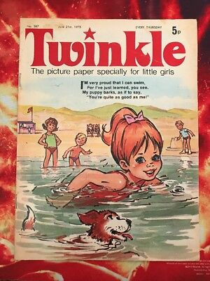 Twinkle  Comic No. 387. 21 June 1975. Puzzles Not Done. Vfn