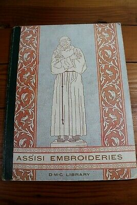 Vintage Assisi Embroideries Pattern Book - DMC Library - 1930s - Vintage Craft