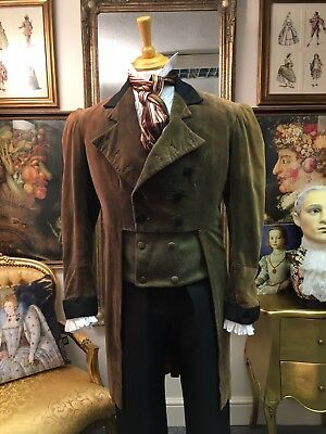 """""""English National Opera"""" Mens M Collar Regency Tailcoat """"The Tales Of Hoffmann"""""""