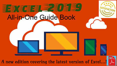 Excel 2019 All-in-One Guide Book/ Dummies, PDF/EPUB Format.....❤️️❤️️❤️️