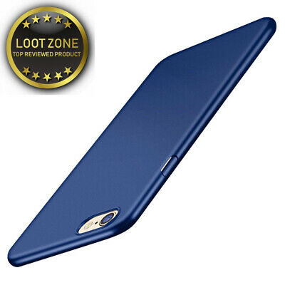 TORRAS iPhone 6/6S Case, Ultra-Thin Case with [Tempered Glass Screen...