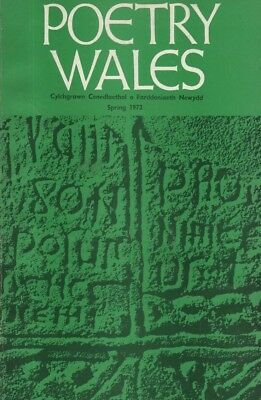 "THE R.S. THOMAS SPECIAL ISSUE OF ""POETRY WALES"" (Spring 1972)"