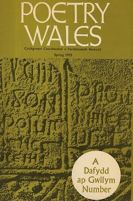 "THE DAFYDD AP GWILYM SPECIAL ISSUE OF ""POETRY WALES"" (Spring 1973)"