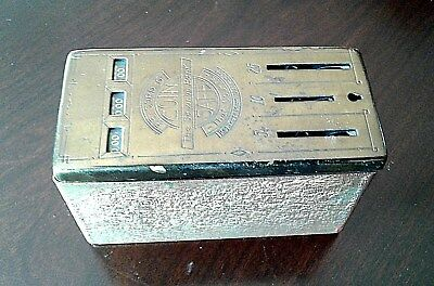 Vintage Advertising Auto-counting Metal Coin Bank