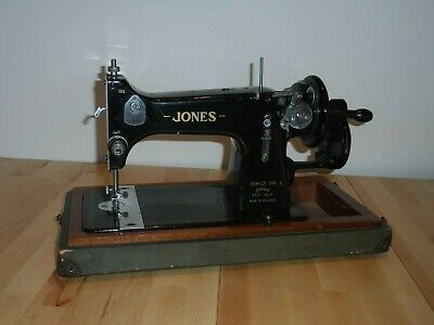 Vintage Jones Model 53A Sewing Machine Hand Crank Manual Prop