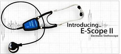 Cardionics E-Scope II Electronic Clinical Stethoscope