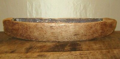Antique Northwest Coast Native American Indian Handmade Toy Model Dugout Canoe