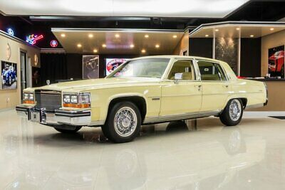 1982 Cadillac Fleetwood Brougham 1 Owner, 13k Actual Miles! Cadillac HT4100 4.1L V8 w/ EFI, 200R4 Auto, Loaded!