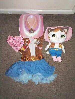 Disney Sheriff Callie Singing Plush Cowgirl Hat Dress Up Sing a long  Microphone 544e83de9ebd