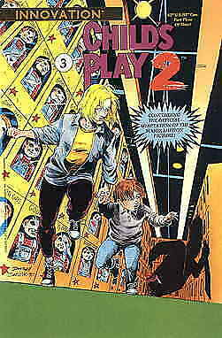 Child's Play 2: The Official Movie Adaptation #3 VF/NM; Innovation | save on shi