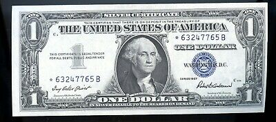 Series Of 1957 United States Silver Certificate $1 Star Note Ow696
