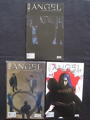 """Angel (Buffy) : """"not Fade Away"""" : Complete 3 Issue Series. Idw. 2009"""