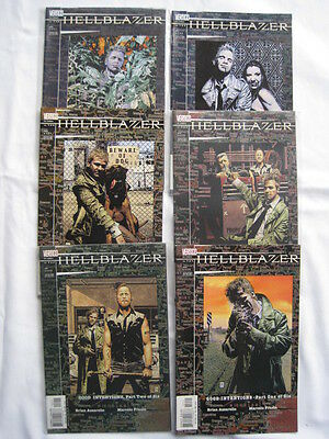 """Hellblazer 151 - 156 : """"good Intentions"""": Complete 6 Part Constantine Story.2000"""