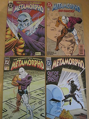 METAMORPHO : COMPLETE CLASSIC 4 ISSUE 1993 DC series by MARK WAID & NOLAN