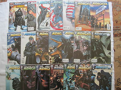 MIDNIGHTER : COMPLETE 20 ISSUE SERIES by GARTH ENNIS & SPROUSE. WILDSTORM. 2007