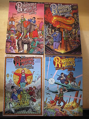 The REMARKABLE WORLDS of PROFESSOR PHINEAS FUDDLE : COMPLETE 4 issue series.2000