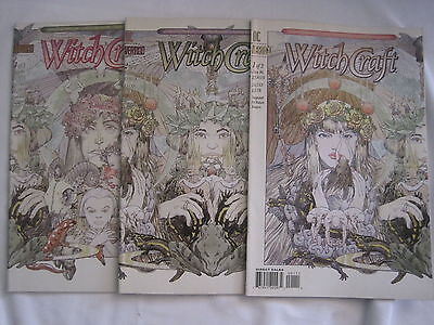 WITCHCRAFT : COMPLETE 3 ISSUE SERIES by ROBINSON & SNEJBJERG. DC VERTIG0. 1994