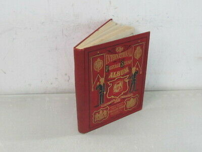 Nystamps US & Worldwide stamp collection in Rare 1888 Scott album High value.