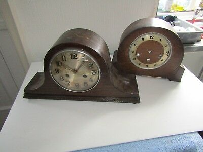 Antique/vintage Mantel Clock And A Mantel Clock Case