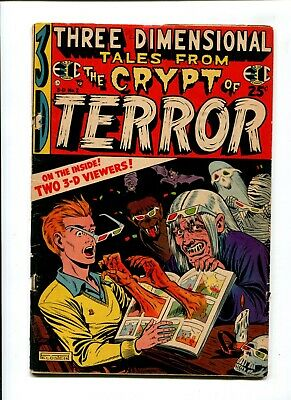 Three Dimensional Tales from the Crypt #2 VINTAGE Golden Age 10c EC Comic 3D