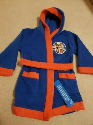 BNWT Paw Patrol Boy's Top Pups Dressing Gown Age 3-4