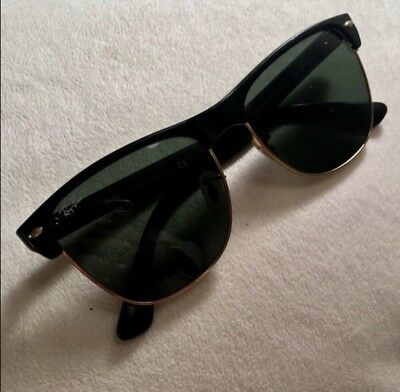 Ray-Ban Clubmaster Oversized Sunglasses RB4175 877 57-16 Green Classic G-15 8d9ba04bcd51