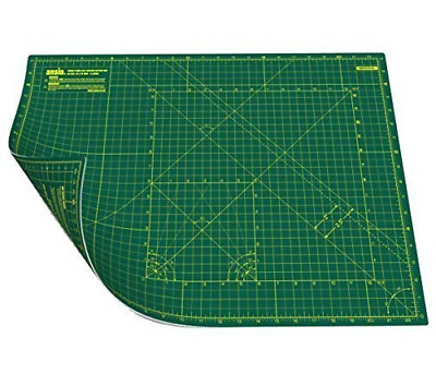 ANSIO Craft Cutting Mat Self Healing A2 Double Sided 5 Layers - Quilting,...