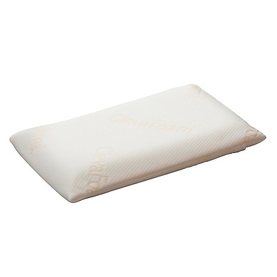 Clevamama ClevaFoam Toddler Pillow - Breathable Foam (+12 months)