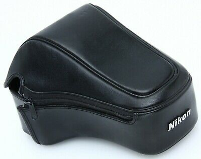 Nikon CF-40 black leather eveready case for 8008/S w/ zoom 377950