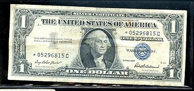 Series of 1957 United States Silver Certificate $1 Star Note DE24