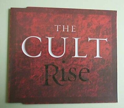Cult Rise Cd Single 2 Mix Promo + P/s German
