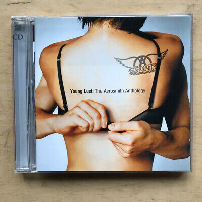 Aerosmith Young Lust - The Anthology Cd Double Cd Album - 34 Tracks - Very Best