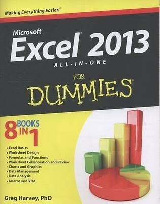 Excel 2013 All-in-One For Dummies by Harvey, Greg