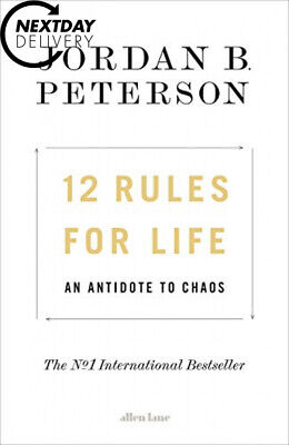 12 Rules for Life: An Antidote to Chaos Hardcover – 16 Jan 2018