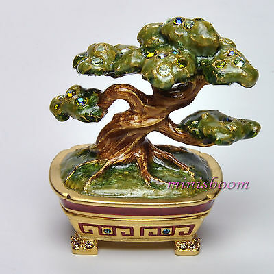 Lauder MAGNIFICENT BONSAI 2007 Solid Perfume Compact Jay Strongwater All Boxes