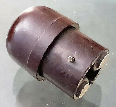 Original Bakelite Ring Grip Australia Hanging Light Lamp Bulb Holder Adapter
