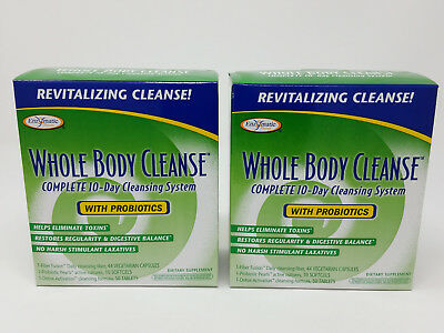 Enzymatic Therapy Whole Body Cleanse Complete 10-Day Cleansing System 2-Pack