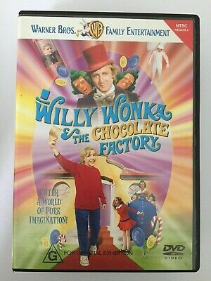 Willy Wonka And The Chocolate Factory DVD
