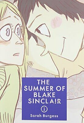 The Summer of Blake Sinclair by Burgess, Sarah Book The Fast Free Shipping