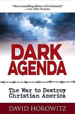 Dark Agenda by David Horowitz Hardcover Book Free Shipping!