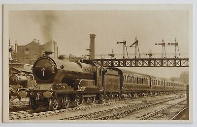 MANCHESTER EXPRESS, Marylebone - Railway / Trains - Vintage postcard