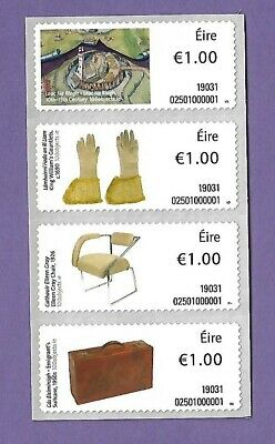 Irish Life & Culture :phase 111-Collector Strip 4X€1 Soar  **new**