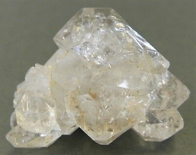 125/6 *-* Quartz Diamant a Inclusion d'Anthraxolite / Himalaya - Pakistan