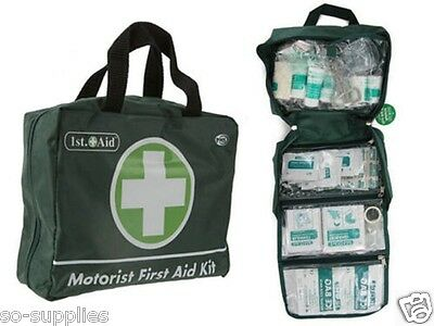 70 Piece First Aid Emergency Kit Car Taxi Home Medical Camping Office Travel