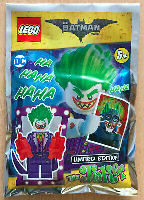 Sachet Polybag Lego Minifigure Figurine Neuf Batman Dc Comics Marvel The Joker