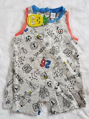 BNWT Tuc Tuc Baby Boy's All In One Suit Age 6 Months RRP £23