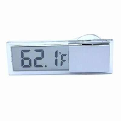 2X(Osculum Type LCD Vehicle-mounted Digital Thermometer Celsius Fahrenheit Z1 F8