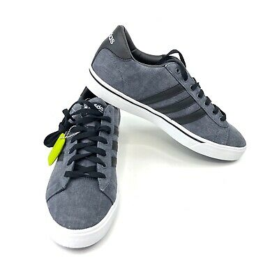 huge selection of bc535 a1548 Adidas Mens CF Super Daily Sneaker BlackGreyWhite 10.5 M US New Without